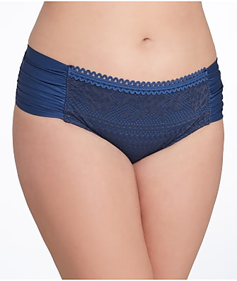BECCA ETC Plus Size Prairie Rose Bikini Bottom