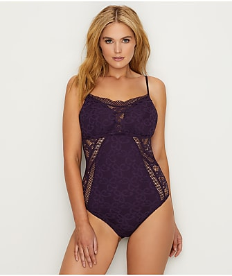 BECCA ETC Plus Size Wire-Free Captured One-Piece