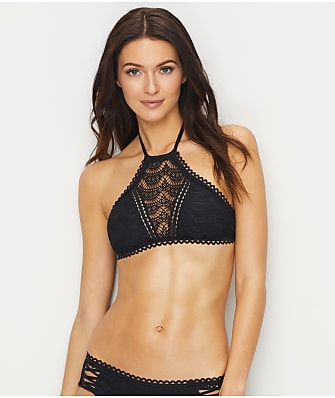 Becca Color Play High Neck Bikini Top