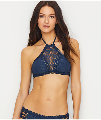 Becca Color Play High Neck Wire-Free Bikini Top