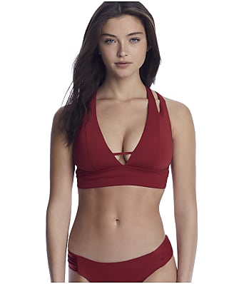 Becca Color Code Split Strap Bikini Top