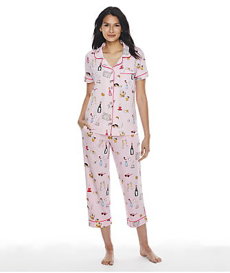 Bedhead Cropped Knit Pajama Set