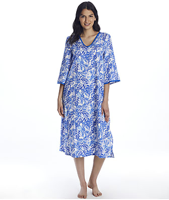 Bedhead Leaves & Berries Woven Caftan
