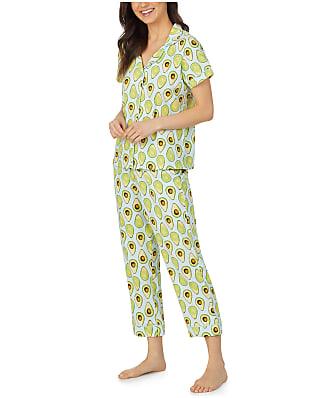 Bedhead Avocuddle Knit Cropped Pajama Set