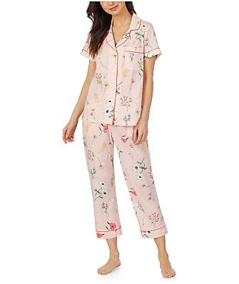 Bedhead Flower Study Sateen Cropped Pajama Set