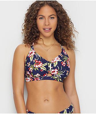Birdsong Hibiscus Bloom Bralette Bikini Top