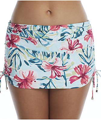 Birdsong Aloha Skirted Bikini Bottom
