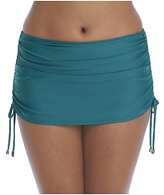 Birdsong Palmetto Skirted Bikini Bottom