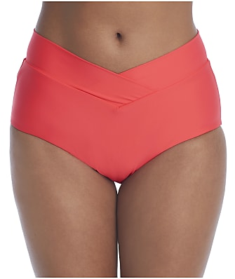 Birdsong Ginger Retro Full Bikini Bottom