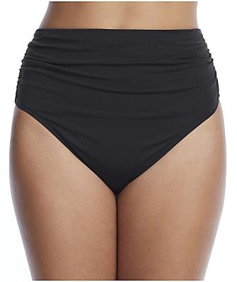 Bleu Rod Beattie Rufflicious High-Waist Bikini Bottom