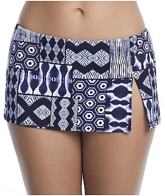 Bleu Rod Beattie Island Time Hipster Skirted Bikini Bottom
