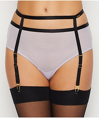 Bluebella Denham High-Waist Garter Thong