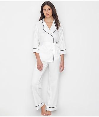 Bluebella Wren Kimono Satin Pajama Set