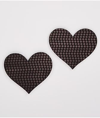 B-Six Blackout Sequin Heart Pasties