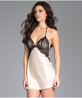 Be Wicked Satin Lace Chemise Set