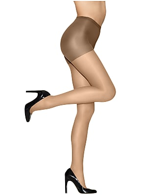 Hanes Hanes Alive Full Support Control Top Pantyhose 6-Pack