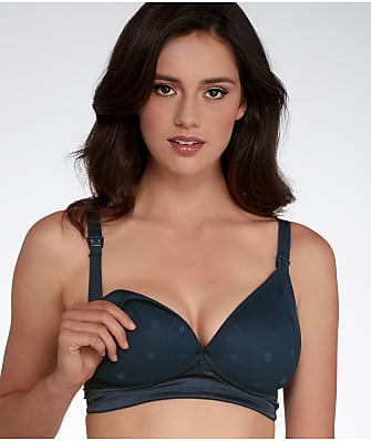 Cake Maternity Maple Mousse Plunge Wire-Free Nursing Bra