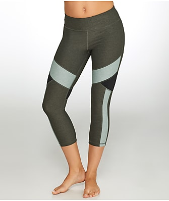 Calvin Klein Colorblock Crop Compression Leggings