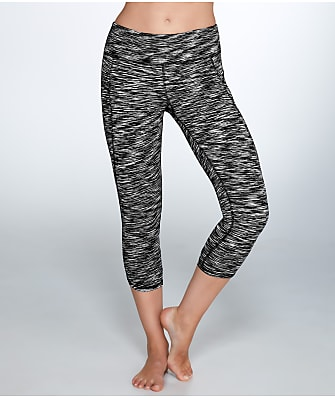 Calvin Klein Cut-Off Logo Cropped Leggings