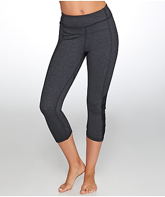 Calvin Klein High Waist Side Mesh Cropped Leggings