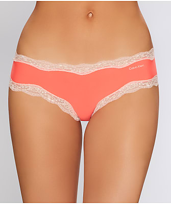 Calvin Klein Microfiber Cheeky Lace Hipster