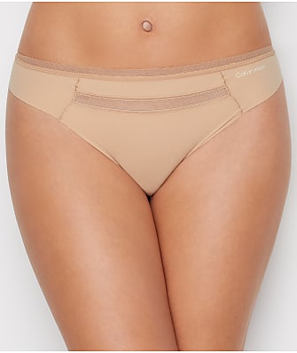 Calvin Klein Mesh Trim Invisibles Thong