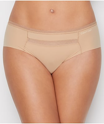 Calvin Klein Mesh Trim Invisibles Hipster