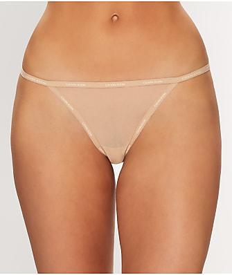 Calvin Klein Sheer Marquisette G-String