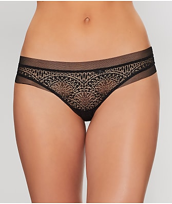 Calvin Klein CK Black Endless Sheer Thong