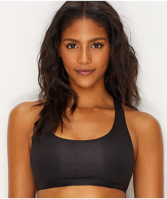 Calvin Klein Black Structure Cotton Bralette