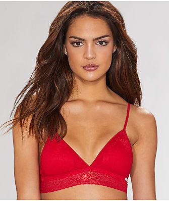 Calvin Klein Bare Lace Triangle Bralette
