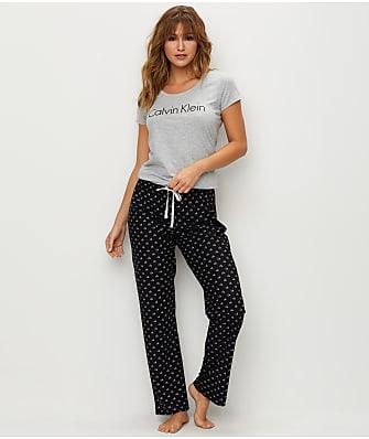 Calvin Klein Comfort Logo Knit Pajama Set