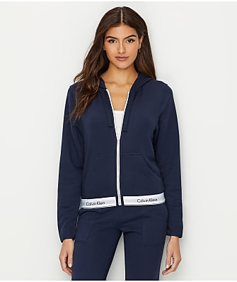 Calvin Klein Modern Cotton Lounge Zip-Up Hoodie