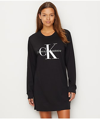 Calvin Klein Monogram Cotton Sleep Shirt