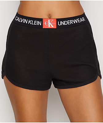 Calvin Klein Monogram Mesh Sleep Shorts