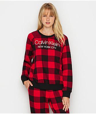 Calvin Klein Modern Cotton Knit Sweatshirt