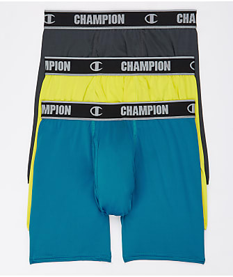 Champion Active Performance Boxer Brief  3-Pack