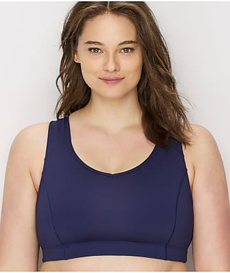 Champion Plus Size Strappy Wire-Free Mid-Impact Sports Bra