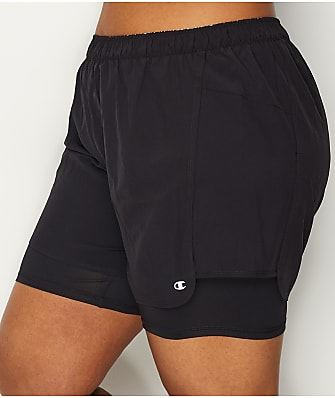 Champion Plus Size 2 In 1 Shorts