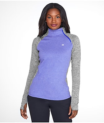 Champion Vapor 1/4 Zip Mock Neck Pullover