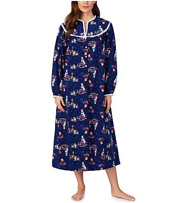Lanz of Salzburg Sleigh Puppies Flannel Nightgown