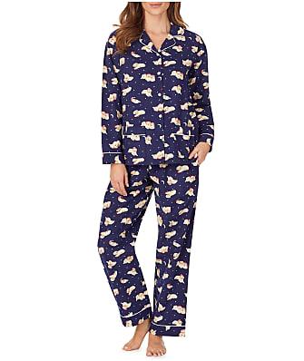 Lanz of Salzburg Sleeping Puppies Flannel Pajama Set