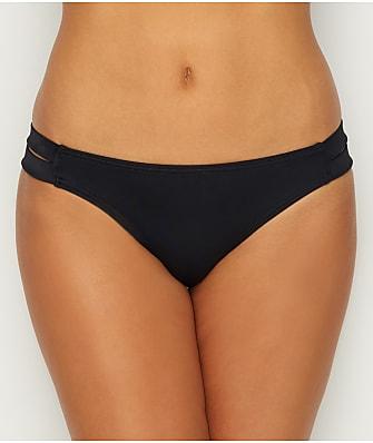 Coco Rave Solid Strappy Bikini Bottom