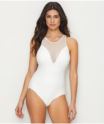 Coco Reef Texture Underwire One-Piece