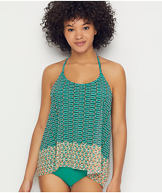 Coco Reef Zanzibar Current Underwire Tankini Top C-DD Cups