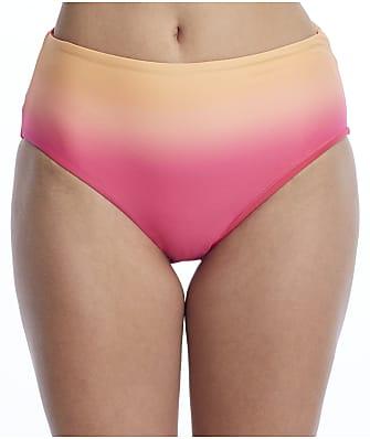 Coco Reef Sunset Fade High-Waist Reversible Bikini Bottom