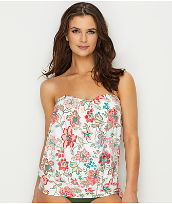Coco Reef Fresno Floral Grace Wire-Free Bandini Top