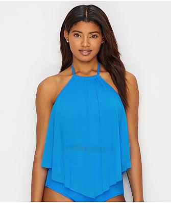 Coco Reef Classic Solid Aura Crop Underwire Bikini Top