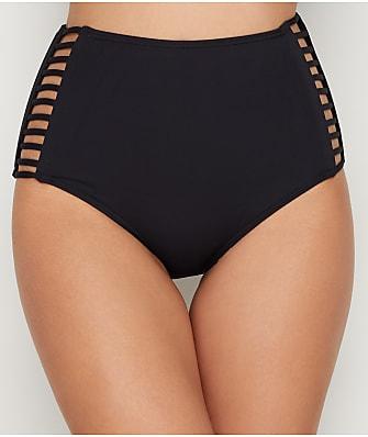 Coco Reef Classic Solid Captivate High-Waist Bikini Bottom