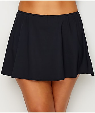 Coco Reef Plus Size Classic Solid Skirted Swim Bottom